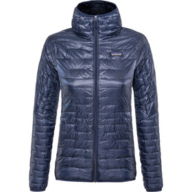 Patagonia Micro Puff Capuchon Jas Dames, classic navy